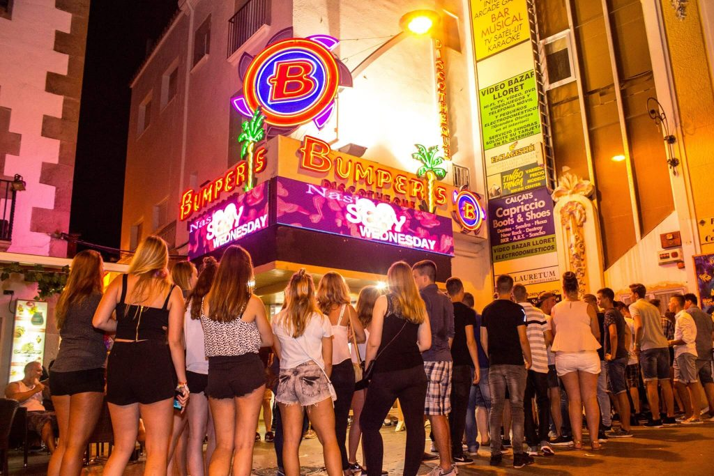 discotheek-club-bumpers-lloret-de-mar