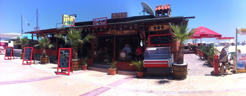 restaurant, uit eten, nederlands, snackbar, cafetaria, hawaii, sunny beach, bulgarije
