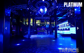 discotheek tropics platinum zaal